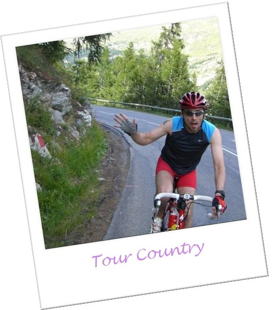 As Tour 2007 did - riding up from the Tignes dam